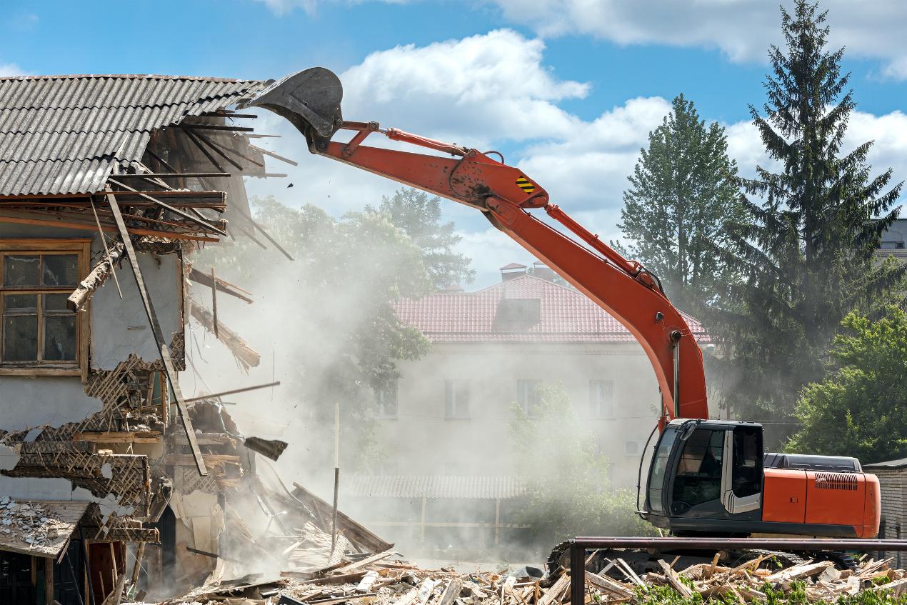 Démolition de maison : voici les précautions à prendre